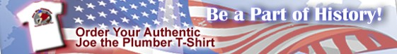 Joe the Plumber T-Shirts